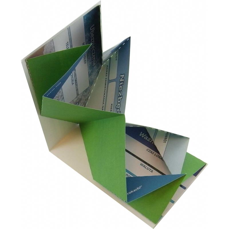 Origami informatiecard