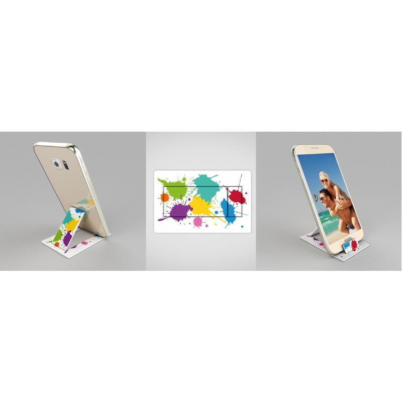 Mobiele telefoonhouder creditcardformaat