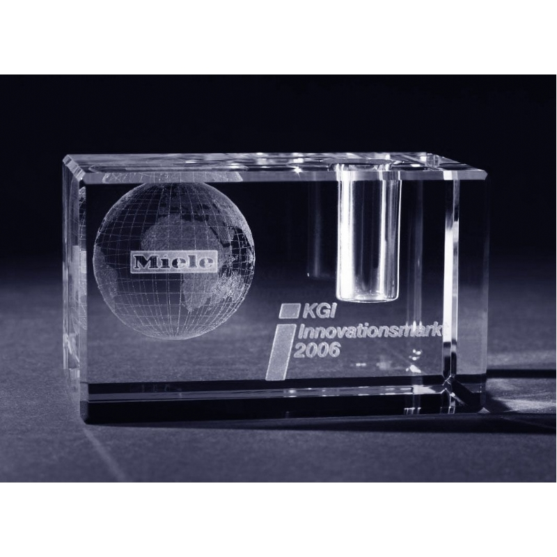 3D pennenhouder met lasergravering