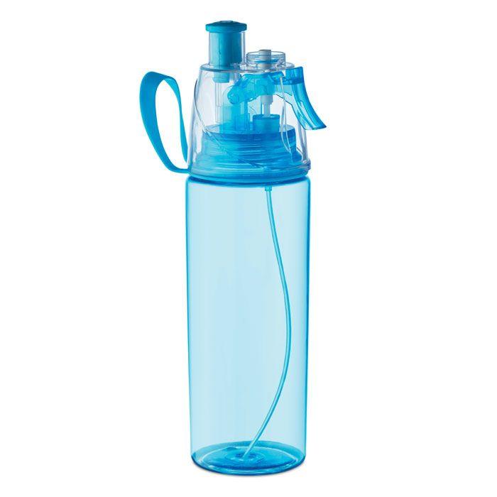 Drinkfles met waterspray