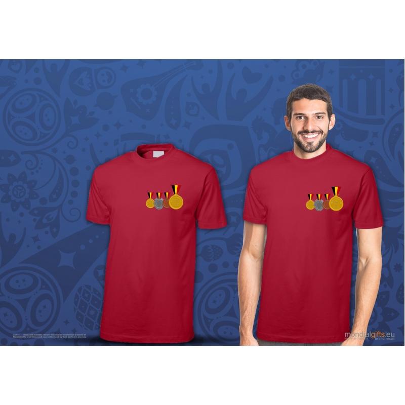 T-shirt eigen design WK2018