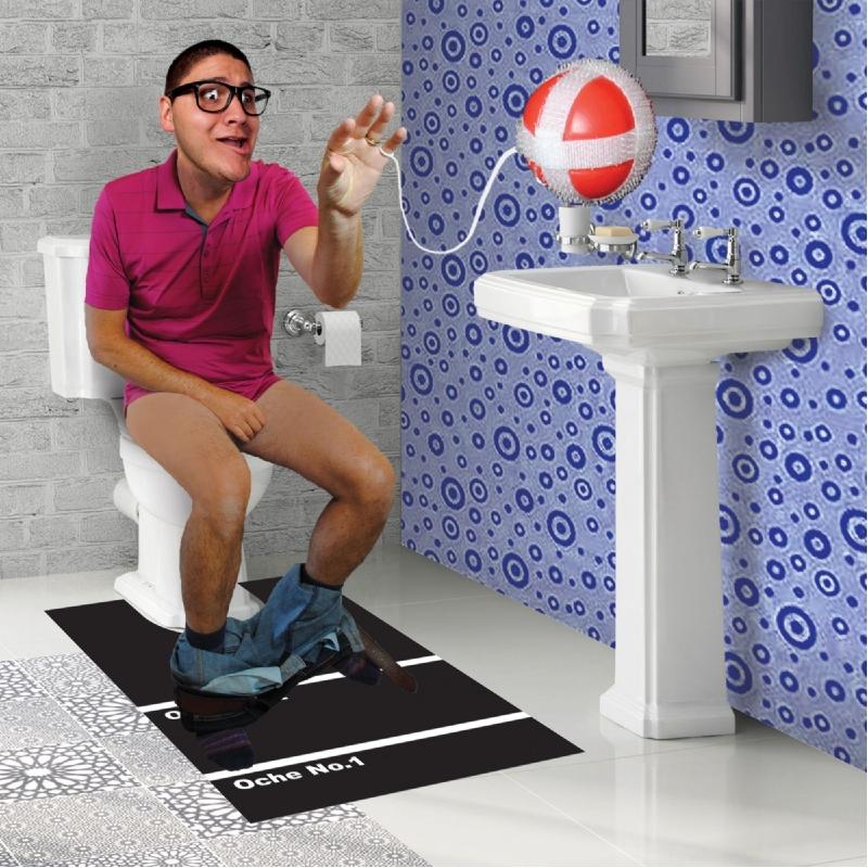Toilet dartspel