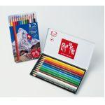 Promotionele pen met logo - set_van_12_caran_dache_kleurpotloden