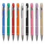 Promotionele pen met logo - aluminium_balpen