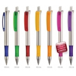 Promotionele pen met logo - balpen_festo_silver