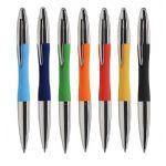 Promotionele pen met logo - chroom_balpen