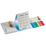 Promotionele pen met logo - papierblokje_met_kalender