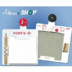 Promotionele pen met logo - memoshop_met_potlood