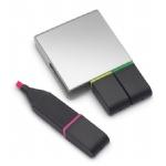 Promotionele pen met logo - tekstmarker-set