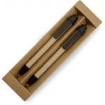 Promotionele pen met logo - bamboe_pennenset_met_rubber_grip(1)