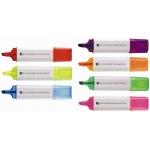 Promotionele pen met logo - tekstmarker_in_7_kleuren