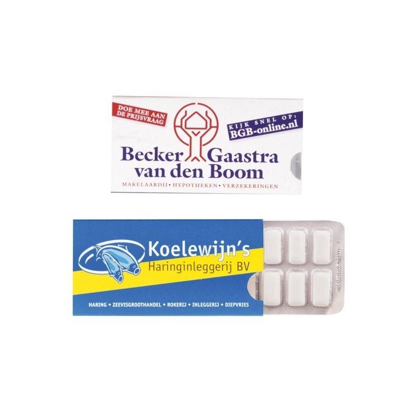 kauwgom relatiegeschenken