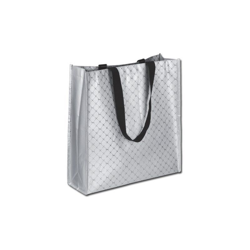 Shopping bag met opdruk logo
