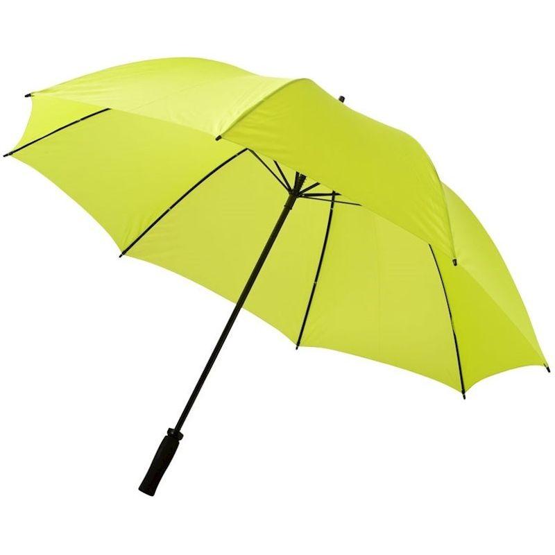 Een stormparaplu als relatiegeschenk, bedrukt met uw logo of geheel in uw huisstijl ontworpen