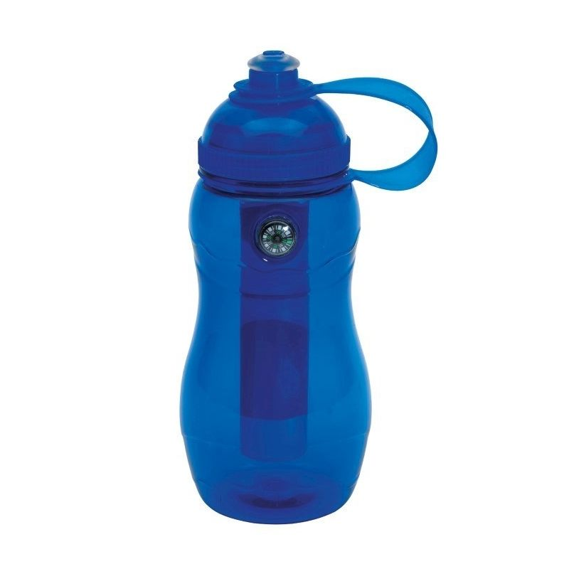 111732937859 - Ice bottle, blue  on track