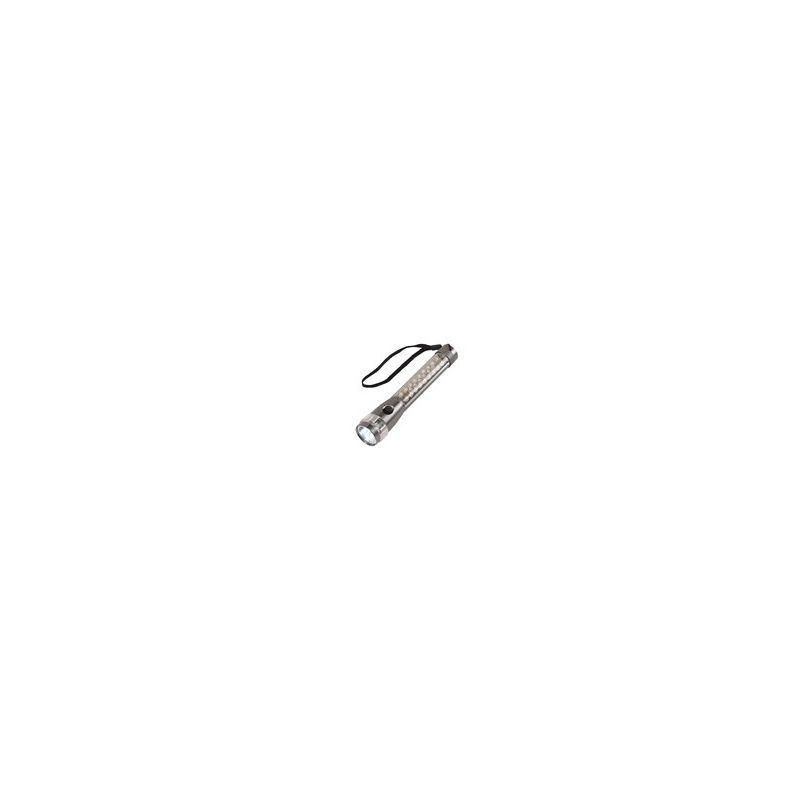 111984265837 -  luxe aluminium LED-zaklamp FLASH met 7 witte- en