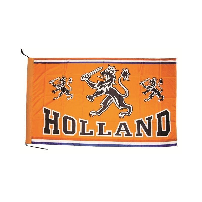Vlaggen, tafelvlaggen, spandoeken en banners