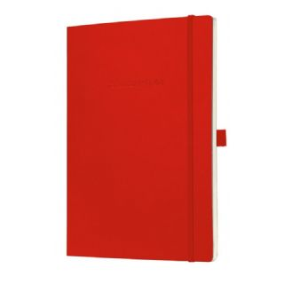 111763499283 - Carnet CONCEPTUM®, rouge, Softcover, à carreaux, e