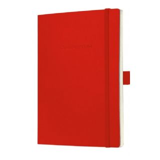 111836472322 - Carnet CONCEPTUM®, rouge, Softcover, à carreaux, e